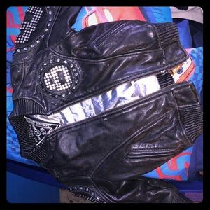 Other - 8 Ball AUTHENTIC Leather Jacket GREAT CONDITION